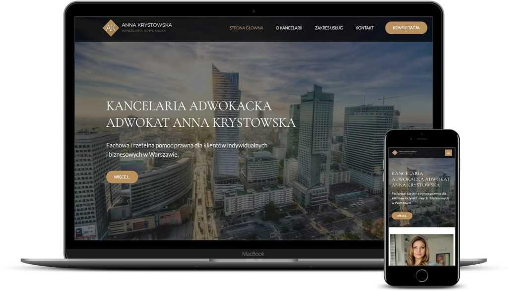 Strony internetowe dla prawników